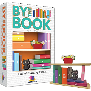 By the Book: A Novel Stacking Puzzle