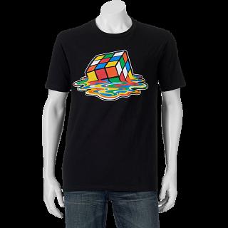 Melted Rubik's Cube - T-Shirt