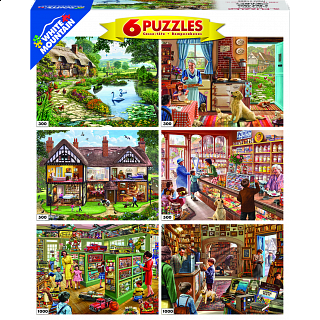 Steve Crisp - 6 in 1 Jigsaw Puzzle Collection