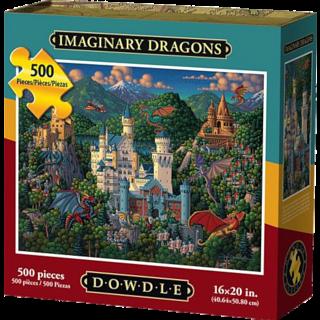 Imaginary Dragons - 500 Piece
