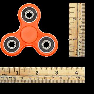 Hand Tri Spinner Anti-Stress Fidget Toy - Orange