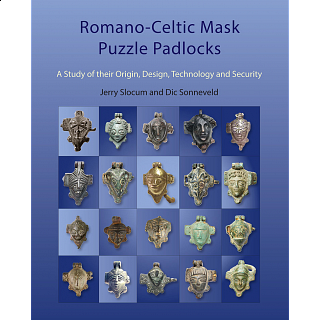 Romano-Celtic Mask Puzzle Padlocks - book