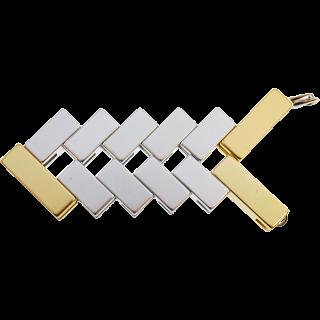 Mini Line Cube - Gold