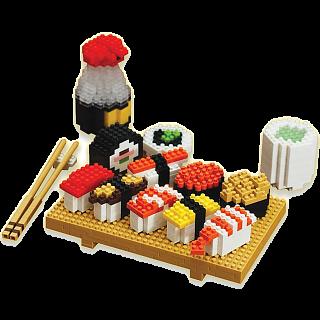 Puzzle Solution for 3D Pixel Puzzle - Sushi