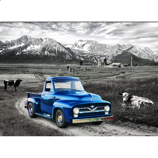 1954 Ford F-100 Heritage Ranch