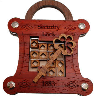 Puzzle Solution for Security Lock