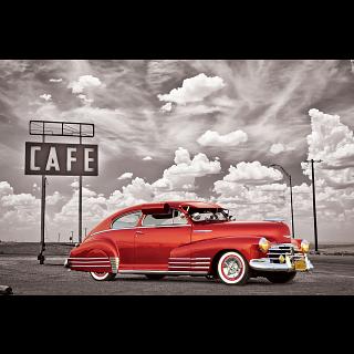 1948 Chevrolet Fleetline Aerosedan: Cruisin' America