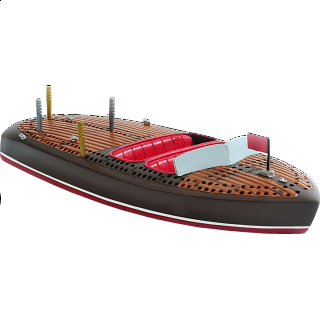 Cribbage Board - Classic Boat