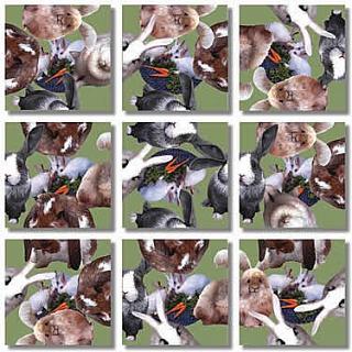 Scramble Squares - Bunnies
