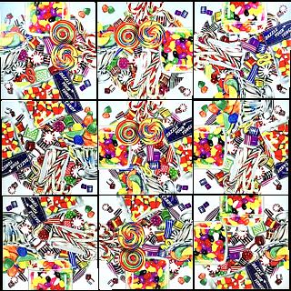 Scramble Squares - Candy