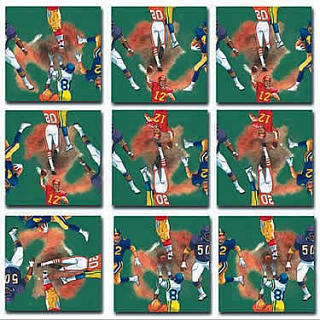 Puzzle Solution for Scramble Squares - Football