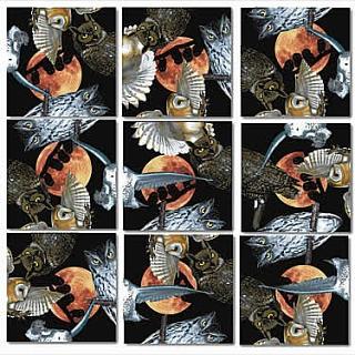 Scramble Squares - Owls