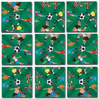 Puzzle Solution for Scramble Squares - Soccer