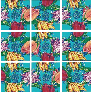 Scramble Squares - Tulips