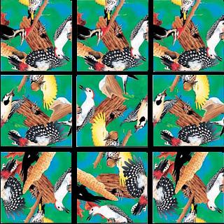 Scramble Squares - Woodpeckers