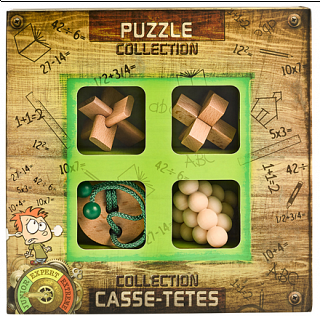 Puzzle Solution for Junior Wooden Puzzle