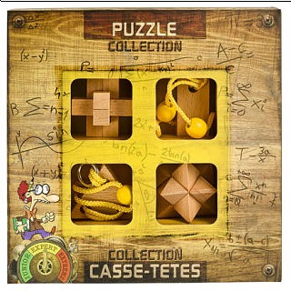 Puzzle Solution for Expert Wooden Puzzles