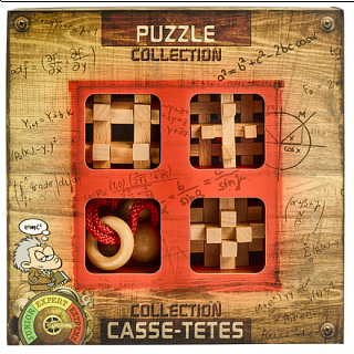 Puzzle Solution for Extreme Wooden Puzzles