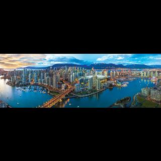 Vancouver, British Columbia: Panoramic Puzzle