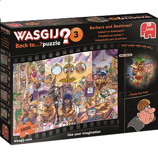 Wasgij Back to...? #3: Barbers and Beehives?