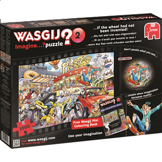 Wasgij Imagine #2: If the Wheel Had Not Been Invented!