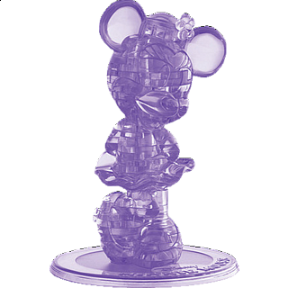 Puzzle Solution for 3D Crystal Puzzle - Minnie Mouse (2nd Edition)