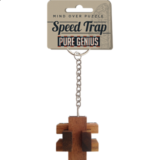 Pure Genius Keychain Puzzle - Speed Trap