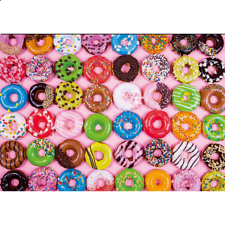 Colorluxe: Colorful Donuts