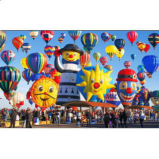 Colorluxe: Fun Shaped Hot Air Balloons