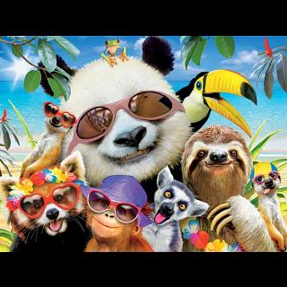 Selfies: Beach Party Panda