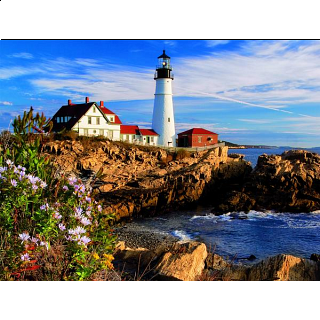 USA: Portland Headlight - Maine