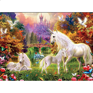 Glitter Unicorns: The Castle Unicorns
