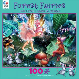 Forest Fairies: Fairy, Elf and Mice