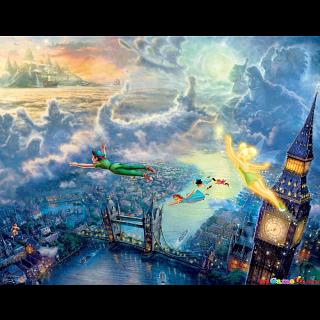 Thomas Kinkade: Disney 4 in 1 Jigsaw Puzzle Collection#3