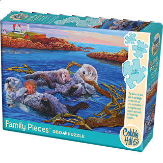 Sea Otter Family - Family Pieces Puzzle