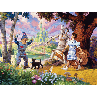 The Wizard of Oz - Family Pieces Puzzle