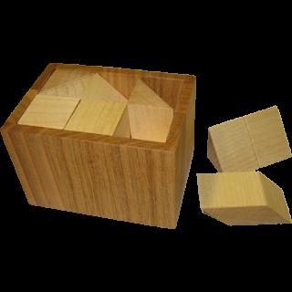 Blocked Half-Cube Box