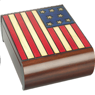 American Flag - Secret Box