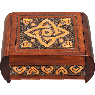 Classic Celtic Knot - Secret Box