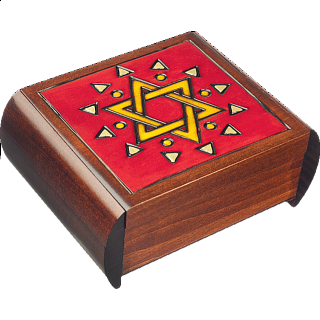 Star of David - Secret Box