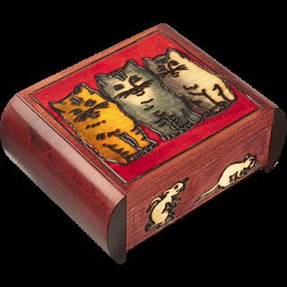 Three Cats - Secret Box