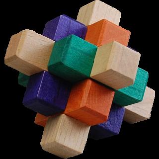 Kumiki Puzzle - 9 Piece