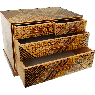 11 Sun 4 Drawers Jewelry Box