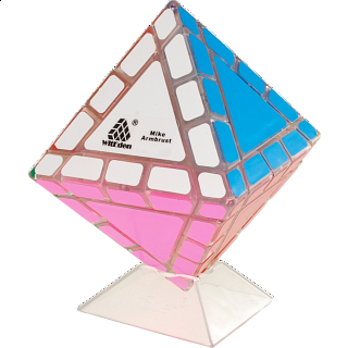 Mike Armbrust Octahedral Mixup - Clear Cube