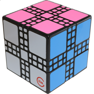limCube Master Mixup Cube Type 2 - Black Body
