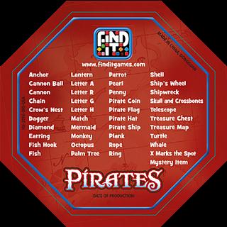 Find It - Pirates