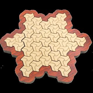 Puzzle Solution for Escherstern