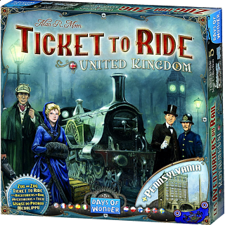 Ticket to Ride: United Kingdom (Expansion)
