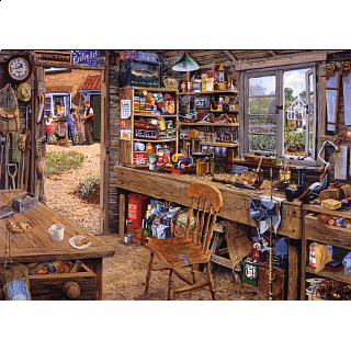 Dad's Shed - Large Piece Format