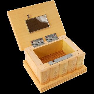 Romanian Puzzle Box - Small Tan